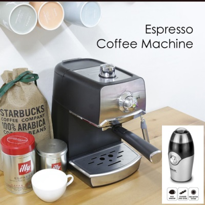 [세인트갈렌] CLASSIC 에스프레소 커피머신+커피그라인더 이미지