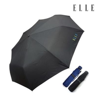 [엘르★백화점입점 우산] 엘르 3단무지/색상:블랙,네이비,블루(랜덤)