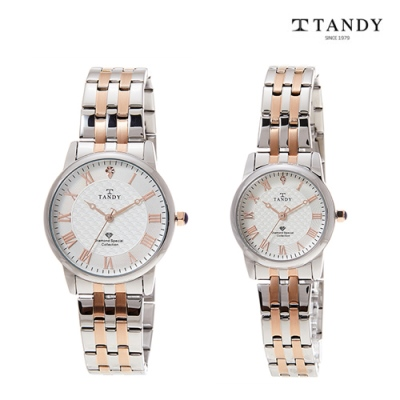 [TANDY] 탠디 다이아몬드 시계 Dia-3919 Combi 이미지