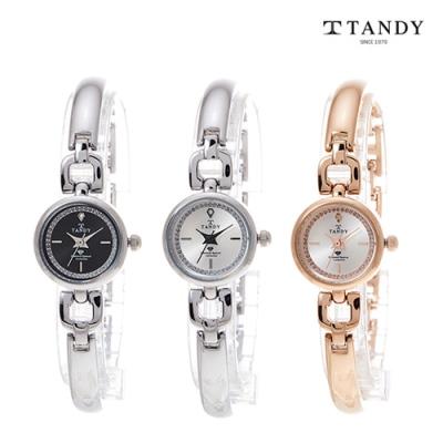 [TANDY] 탠디 다이아몬드 원터치셀프밴드 시계 DIA-4040 이미지