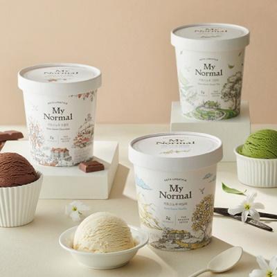 [마이노멀] 키토스노우 파인트 아이스크림 3개/맛있는 디저트를 안심하고 행복하게/다이어트 이미지