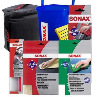 [SONAX] 소낙스 필수 세차도구 6종 패키지/자동차세차 이미지
