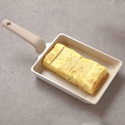[라체나] 피콕 IH 친환경 세라믹 미니 계란말이 팬 /항균력 99% 피나투보 코팅공법 제조 이미지