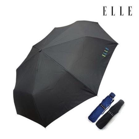 [엘르★백화점입점 우산] 엘르 3단무지/색상:블랙,네이비,블루(랜덤) 이미지